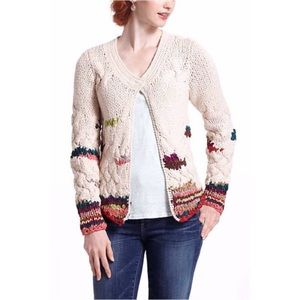 Anthropologie NWOT Charlie & Robin sweater